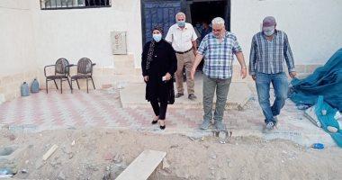 صور ..وكيل وزارة الاسكان بالبحر الأحمر يتفقد مشروعات الوزارة بمدينة سفاجا