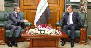 وزيـر الصناعـة العراقى يبحـث مـع سفير مصر لدى بغداد مستقبل التعاون الصناعى