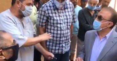 فيديو ..محافظ الإسكندرية يتفقد أعمال تطوير منطقة الدخيلة غربا