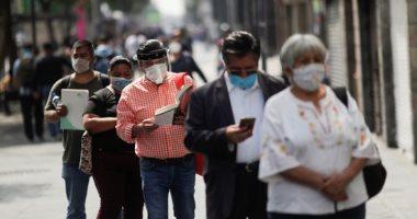 المكسيك تكافح فيروس كورونا وسط تخفيف القيود فى مكسيكو سيتى