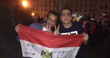 """صورتك فى 30 يونيو.. """"إبراهيم"""" و """"على"""" و""""محمود"""" فى ميدان التحرير"""