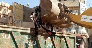 حى ثان المحلة ينفذ حملة نظافة مكبرة بشوارع المدينة
