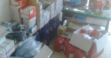 ضبط أدوية ومستلزمات طبية مجهولة المصدر بالإسكندرية