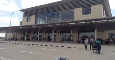 مطار برج العرب الدولى يستقبل أولى الرحلات القادمة من ليبيا