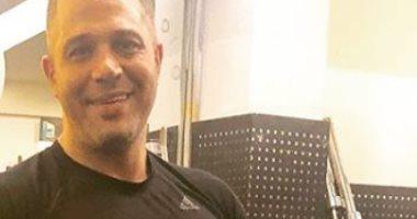 مصطفى درويش من داخل الجيم بعد تعافيه من كورونا: نرجع تانى