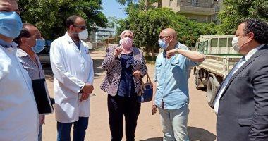 وكيل صحة الشرقية يتفقد الخدمة الطبية بمشتول السوق