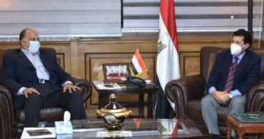 وزير الرياضة يوافق على خطة تنمية موارد الاتحاد السكندرى والعضويات