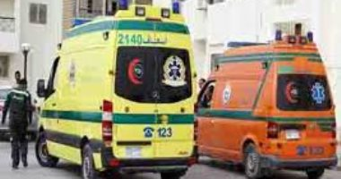 صورة إصابة 10 من عمال اليومية في انقلاب سيارة ربع نقل بالشرقية
