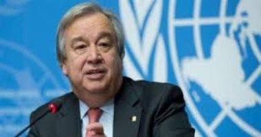 جوتيريش: نأمل فى توفير فرص جديدة لتعزيز السلام باتفاق السودان وإسرائيل