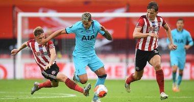 توتنهام يتلقى خسارة قاسية ضد شيفيلد يونايتد في الدوري الإنجليزي