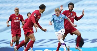 ملخص وأهداف مباراة مانشستر سيتي ضد ليفربول 4-0 في الدوري الإنجليزي