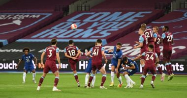 ملخص وأهداف مباراة وست هام ضد تشيلسي فى الدوري الإنجليزي