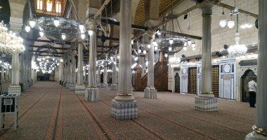 إعادة فتح مسجد الإمام الحسين جزئيا فجر الغد