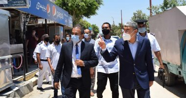 محافظ المنيا يغلق مقهى لعدم الالتزام بتطبيق الإجراءات الاحترازية