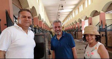 فيديو وصور.. صبرى فواز يصطحب ابنته لأحد نوادى الفروسية بمدينة 6 أكتوبر