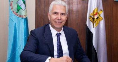 """نائب رئيس جامعة طنطا يؤكد تطبيق التعليم  """"الهجين """" فى الدراسات العليا"""