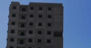 إزالة عقار مخالف من 11 طابق بطريق خورشيد الزراعى شرق الإسكندرية