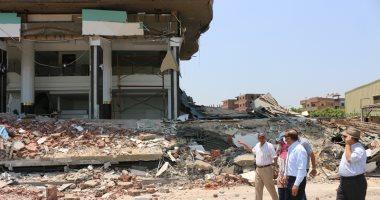 محافظ المنوفية: استمرار إزالة التعديات الصارخة على طريق شبين الكوم قويسنا