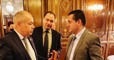 وزير خارجية ليبيا يبحث مع نائب رئيس مجلس الشيوخ الروسي تطوير العلاقات