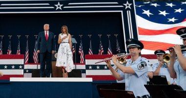ميلانيا ترامب بعيد الاستقلال: دعونا نفكر بالأشياء التى تجعل هذا البلد عظيما