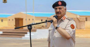 حفتر يجتمع بقيادات الجيش الليبى لبحث التطورات العسكرية