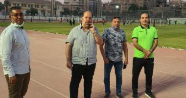 أسوان يبحث مع مدير الجبلاية ملعب أبناء الجنوب بالقاهرة فى الدوري