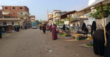 تنفيذ الإجراءات الاحترازية لبدء التشغيل التدريجى للأسواق فى الشرقية
