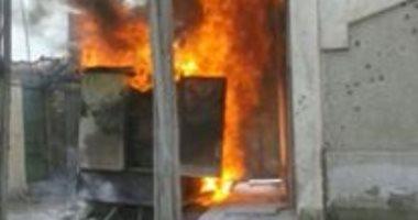 النيابة تطلب التحريات والتقرير الجنائى حول حريق كشك كهرباء فى أوسيم