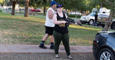 مظاهرات بالأسلحة النارية فى أريزونا الأمريكية ضد إعادة فرض قيود كورونا