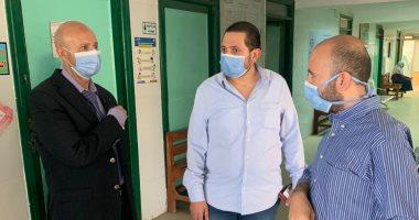 وكيل صحة الشرقية يتابع الخدمات الطبية والمبادرة الرئاسية بمنيا القمح