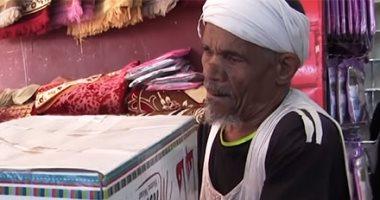 """وزيرة التضامن: ندرس عمل فيلم تسجيلى عن """"عم عاطف"""" أقدم شيال فى مصر"""