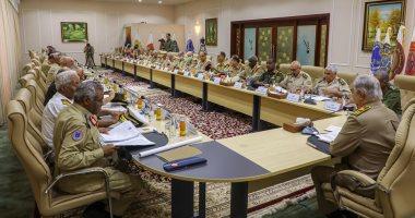 حفتر يبحث مع قادة الجيش الوطنى الليبى الخطط اللازمة للمرحلة القادمة