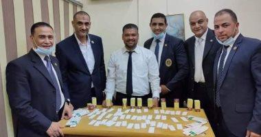 صور.. جمارك مطار القاهرة تحبط محاولة تهرب 500 قرص مخدر