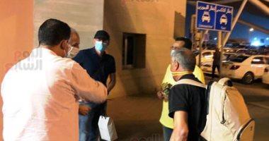 فيديو وصور.. وصول فايلر للقاهرة لاستكمال مسيرة قيادة النادى الأهلى