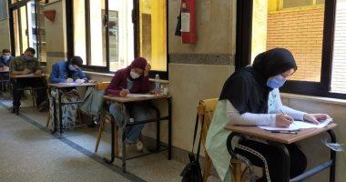 انطلاق اليوم الثانى من امتحانات الفرق النهائية بجامعة عين شمس