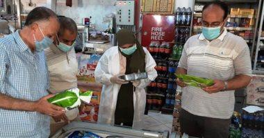 تحرير قضايا غش تجارى فى حملة تموينية بالجيزة