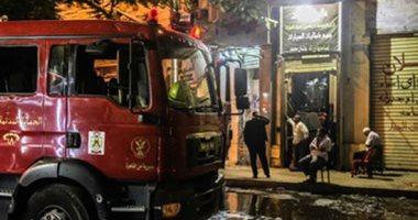 إخماد حريق داخل محطة وقود فى مدينة نصر دون إصابات