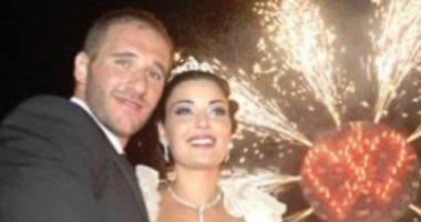 سيرين عبد النور تحتفل بمرور 13 عاما على زواجها بذكريات من حفل الزفاف.. صور