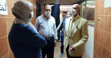وكيل الصحة الشرقية يتابع أول أيام توقيع الكشف الطبى على مرشحى مجلس الشيوخ