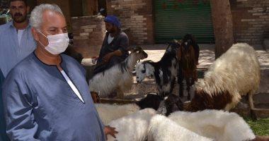 نقيب الفلاحين يكشف أسعار الأضاحى من داخل سوق الماشية