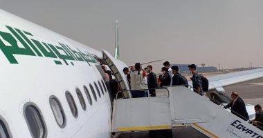 استئناف رحلات الجسر الجوى الاستثنائية إلى العراق عبر مطار القاهرة الدولى