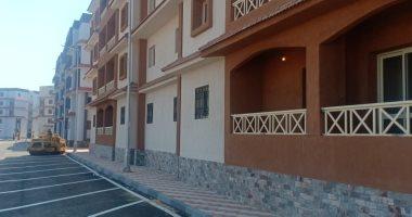 صور.. تحويل مستنقع للعشوائيات لمنطقة سكنية حضارية على نيل رأس البر