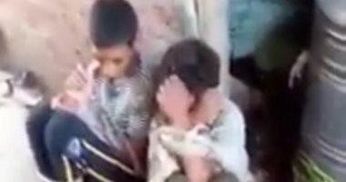 حبس المتهم بتعذيب طفلين لسرقتهما دراجته البخارية بقرية بالشرقية