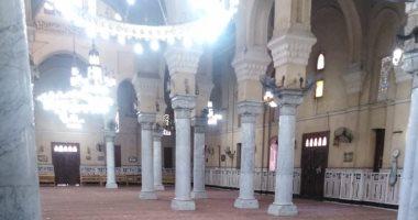 مصلى السيدات بمسجد السيدة زينب يستقبل المصليات غدا