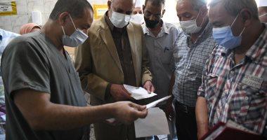 تعافى وخروج 138 حالة كورونا من مستشفى الوقف المركزى بقنا