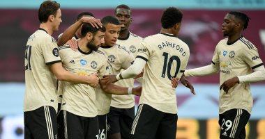 كل أهداف الخميس.. مانشستر يونايتد يواصل انتصاراته فى الدوري الإنجليزي