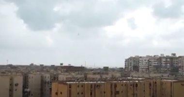 أمطار في عز الصيف صباح اليوم على محافظة بورسعيد.. فيديو