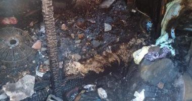 السيطرة على حريق بعقار بغيط العنب غرب الإسكندرية ومصرع سيدة مسنة