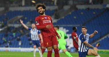 محمد صلاح على بعد 3 أهداف من صدارة ترتيب هدافي الدوري الإنجليزي