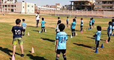 مركز شباب مدينة العريش يواصل أنشطته وسط اجراءات احترازية مشددة